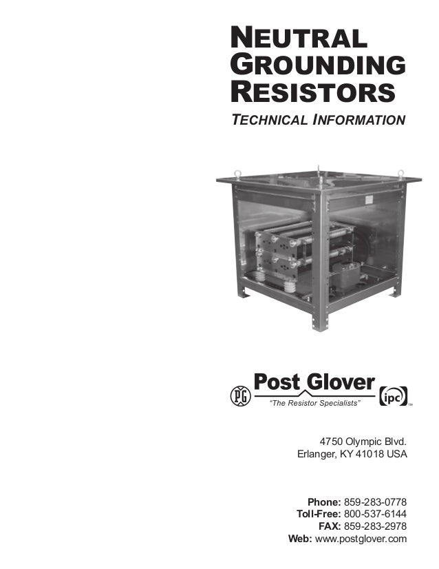 neutral grounding resistor
