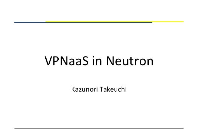 VPNaaS in Neutron