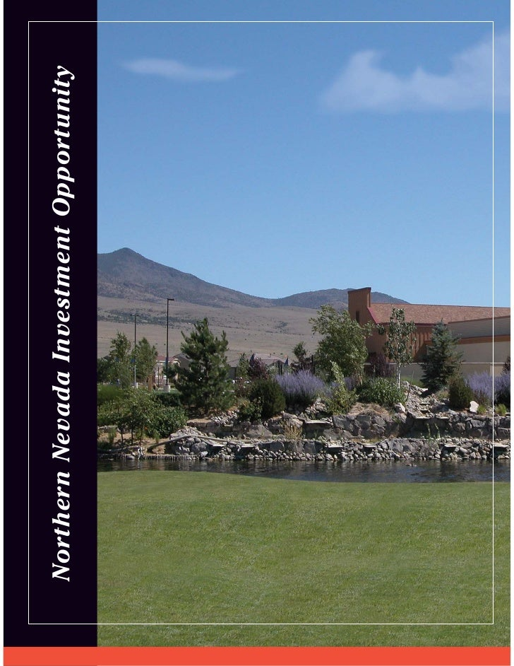 Northern Nevada Investment Opportunity