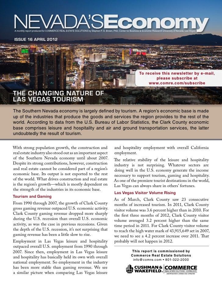 Nevada's Economy April 2012