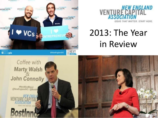 New England Venture Capital Association: 2013 in Review