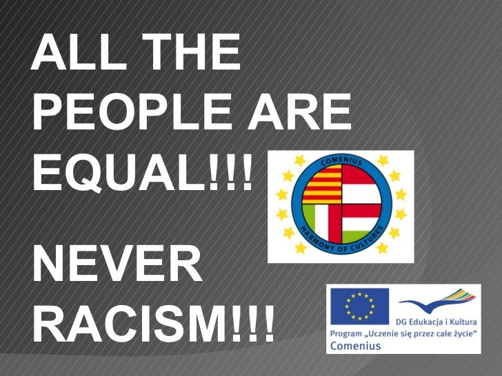 Never racism