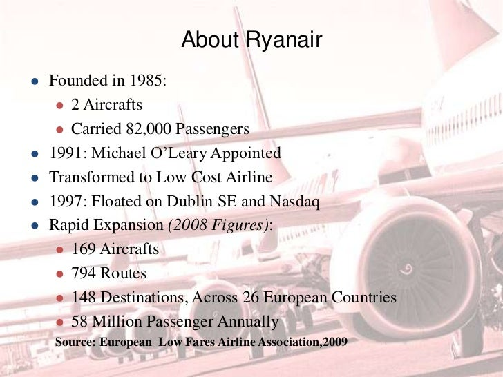 ryanair case study analysis Free essay: ryanair contents introduction 2 case analysis, identification of key issues 3 shareholder prioritization 3 alignment with environment and.
