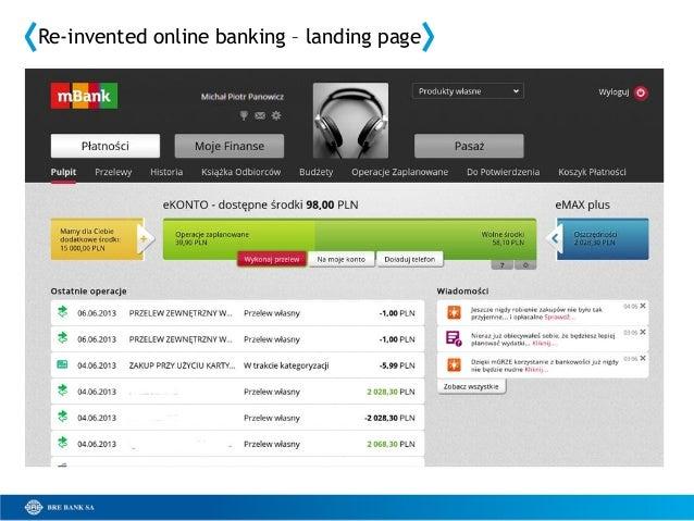 New mBank innovations and design (2013-06-28) v 2.1