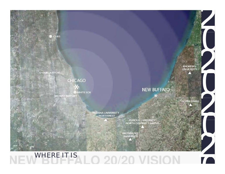 WHERE IT IS NEW BUFFALO 20/20 VISION