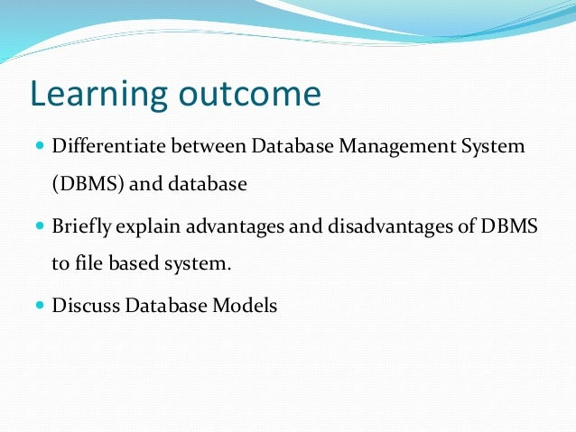 a case study of the differences between relational and object oriented database systems Database systems ch2 review what is the differences between an object and a class in the object a graphical representation of a relational database's.