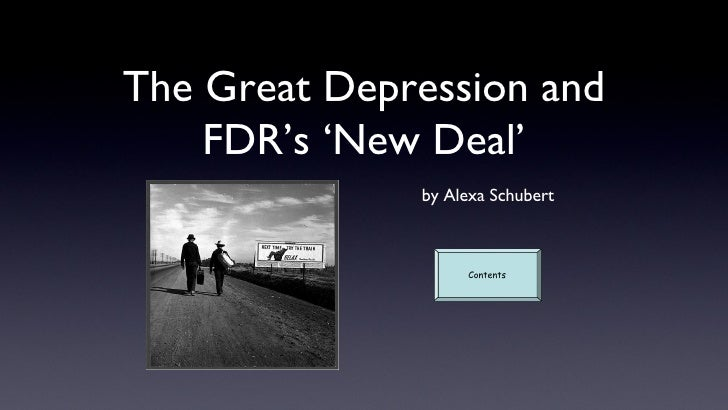 New Deal Ppt