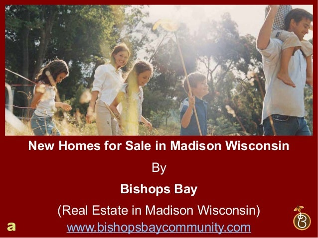 New Homes for Sale in Madison Wisconsin by Bishops Bay