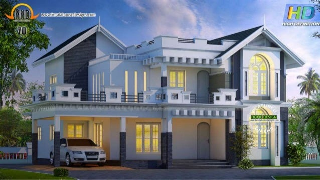 New house plans of june 2015 for Kerala home designs 2015