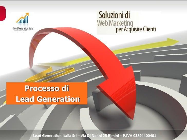 Servizi di Lead Generation Italia Srl