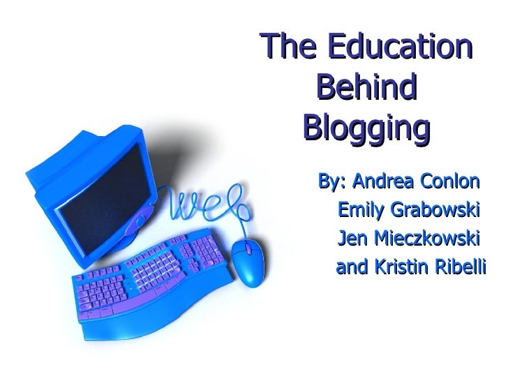 New Media Blogging Presentation