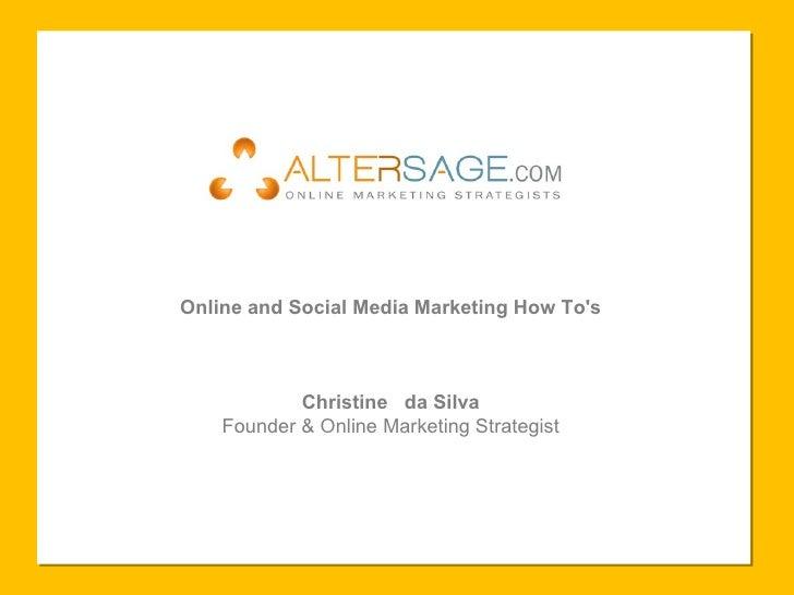 New Media Marketing Presentation