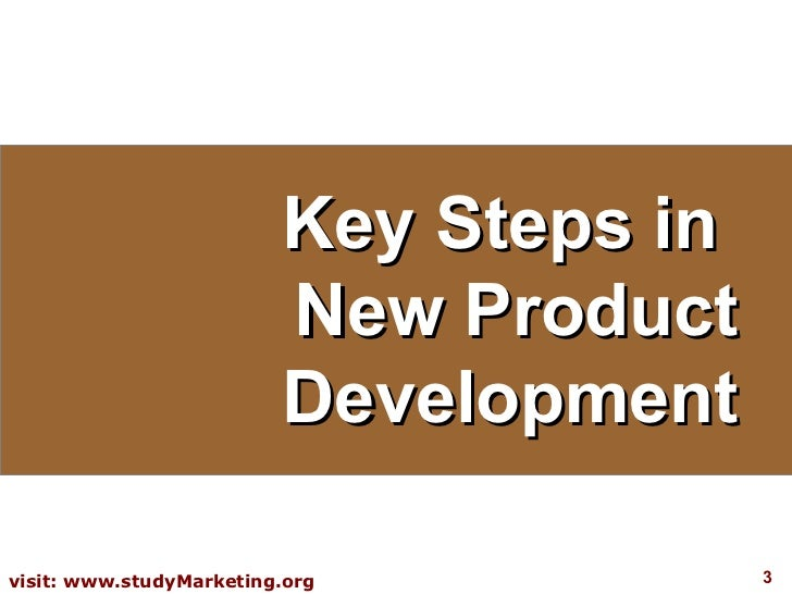 new product development for marketing This video explores the 8 stages of product development as well, it helps identify what we mean by 'product' and where the.