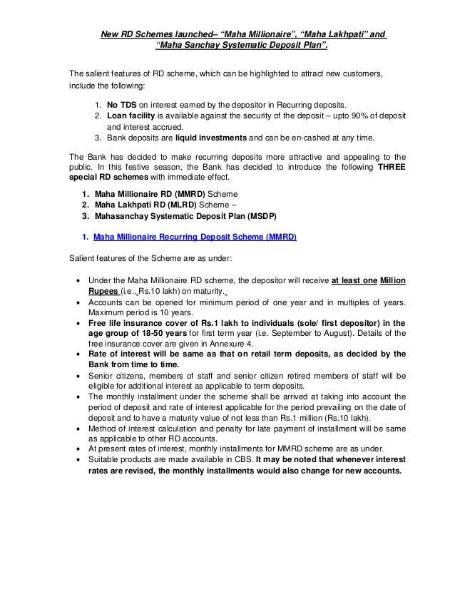 New recurring-deposit-schemes-01-december-2011