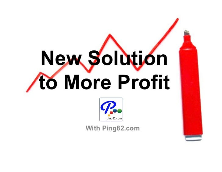 New Solution To More Profit