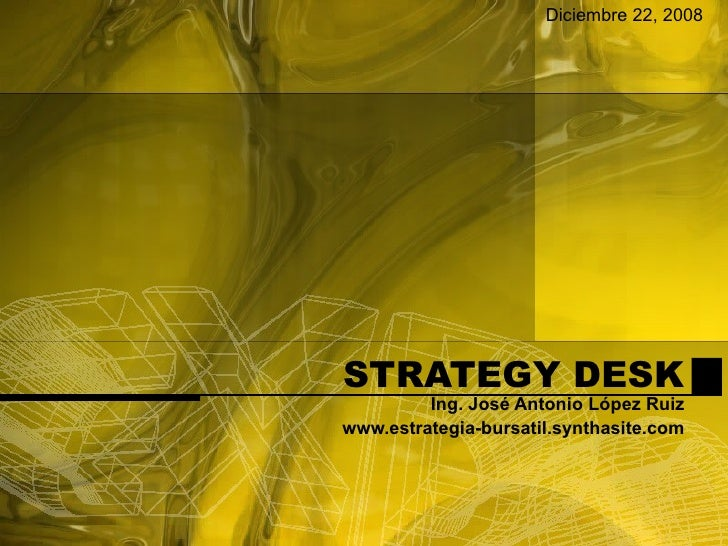 New Strategy Desk Dic. 22