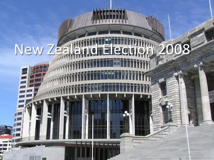 New Zealand Election 2008