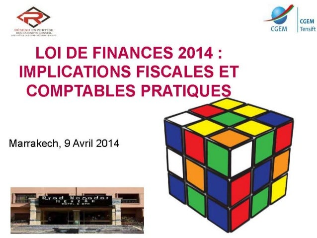 Nouveautés de la loi de finances 2014
