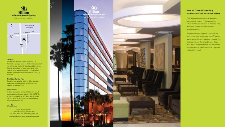 New 2010 Hilton Alt Sprgs Brochure