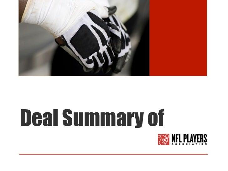 Deal Summary of