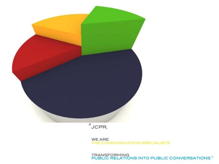 DOCUMENT :       CREDENTIAL 2011COMPANY     :    JC&CO PUBLIC RELATIONS CO.,LTDSPECIALIZATION             :    PUBLIC RELA...