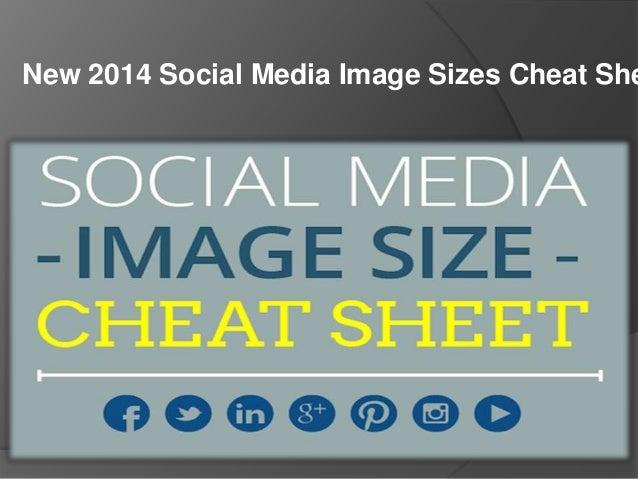 New 2014 Social Media Image Sizes Cheat She