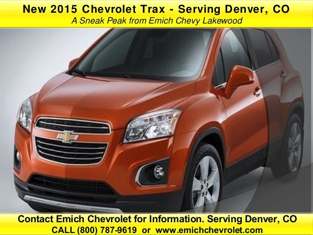 contact emich chevrolet for information serving denver cocall 800. Cars Review. Best American Auto & Cars Review