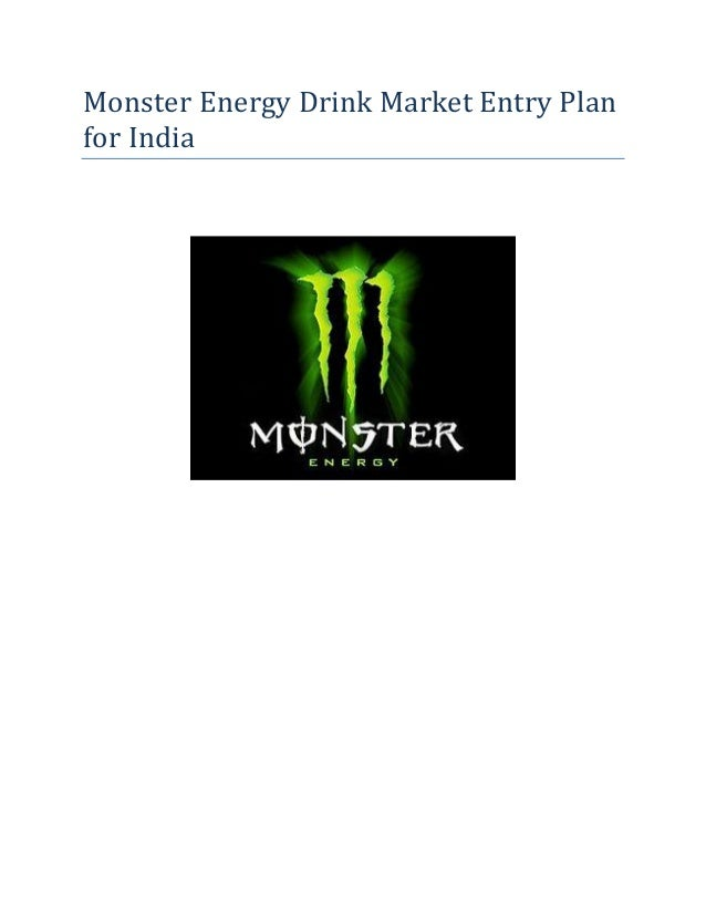 monster energy drink market research india Food regulator against ginseng being used with caffeine in such beverages   new entrants to boost energy drinks market  of india, which has imposed a ban  on brands such as monster, restless, cloud 9 and tzinga.