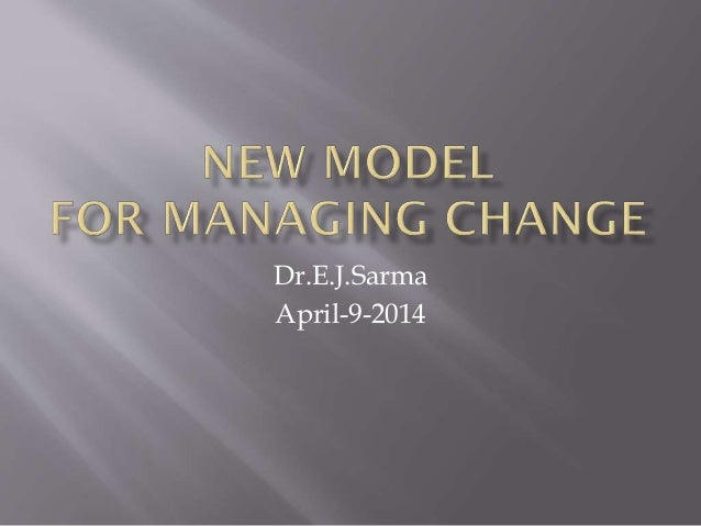 New  8 steps approach to change management effectiveness
