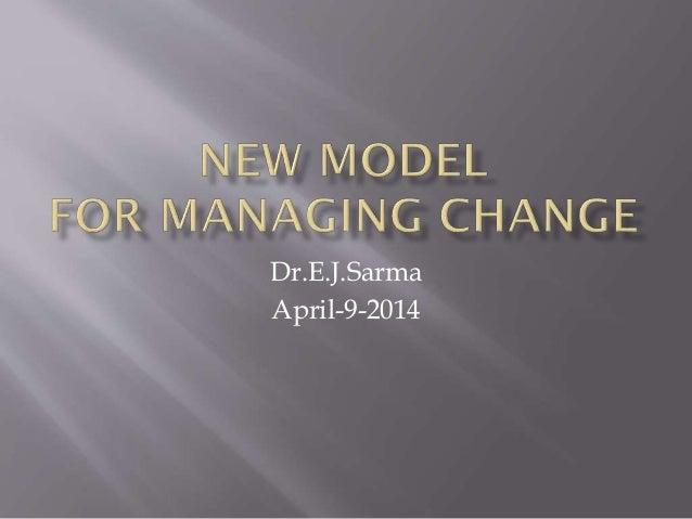 Dr.E.J.Sarma April-9-2014