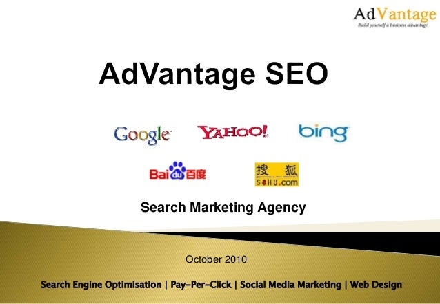 Search Engine Optimisation | Pay-Per-Click | Social Media Marketing | Web Design Search Marketing Agency October 2010