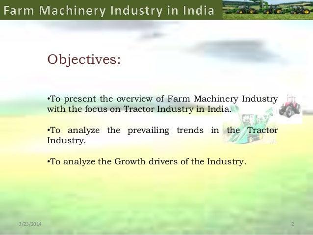Farm Machinery Industry