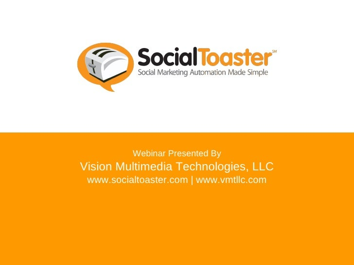 SocialToaster: Social Marketing Automation Made Simple
