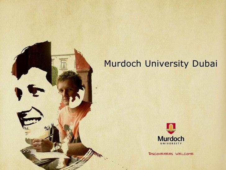 Murdoch University International Study Centre Dubai
