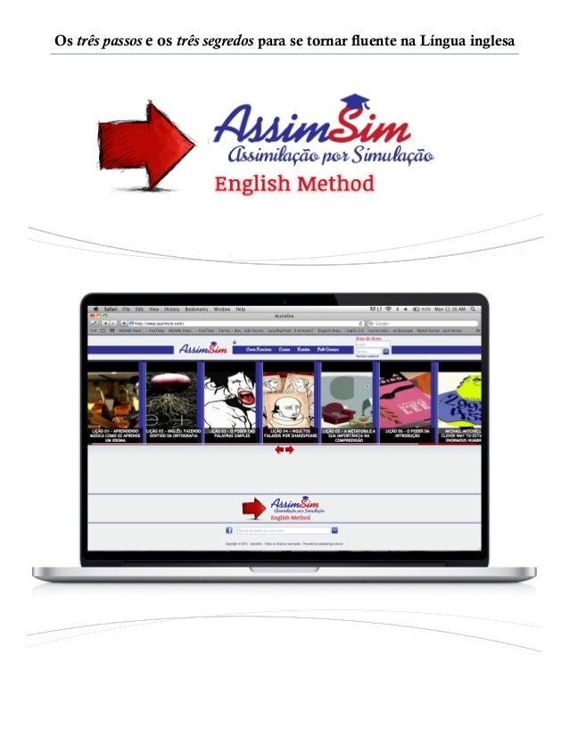Aprendendo Inglês no Método AssimSim