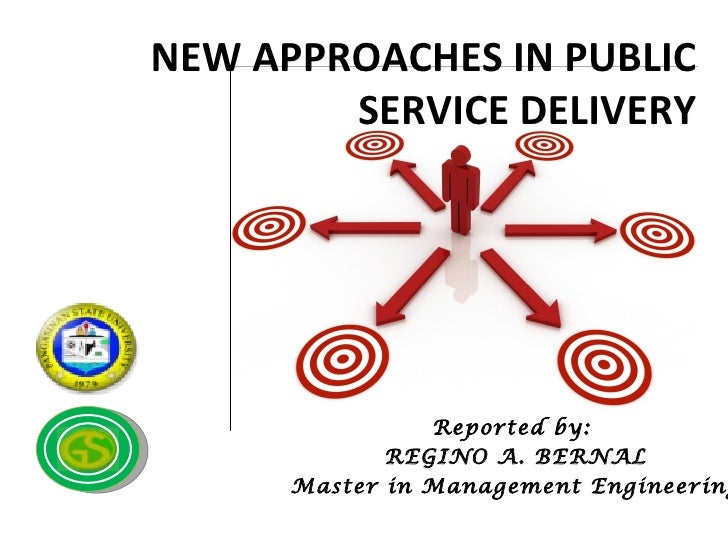 New Approaches in Public Service Delivery
