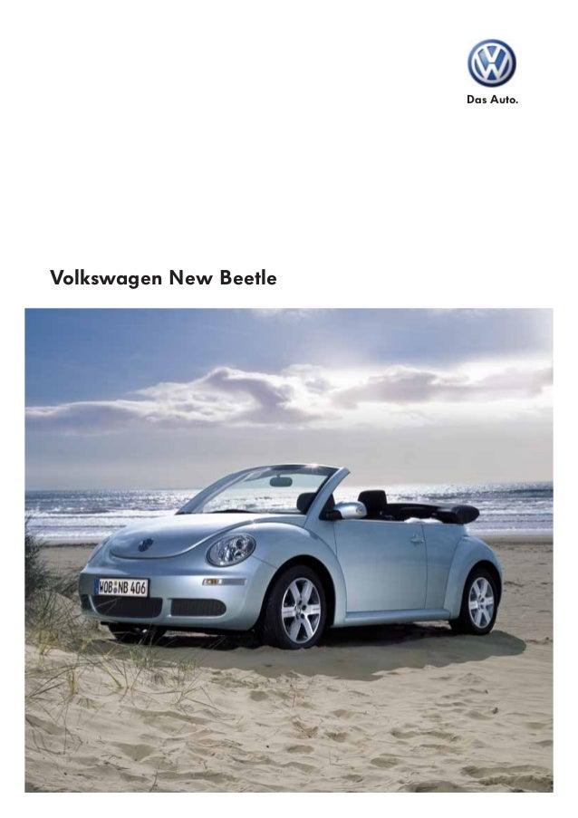 Das Auto. Volkswagen New Beetle