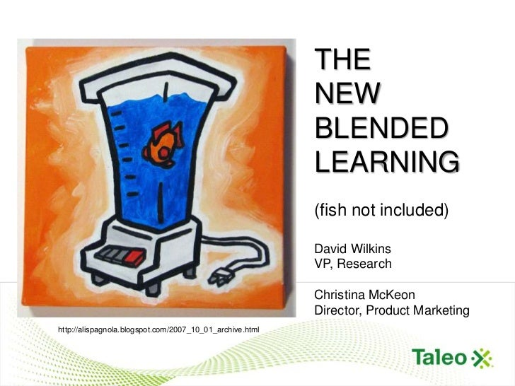 "THE                                  THE ""NEW"" BLENDED LEARNING                                                      NEW  ..."