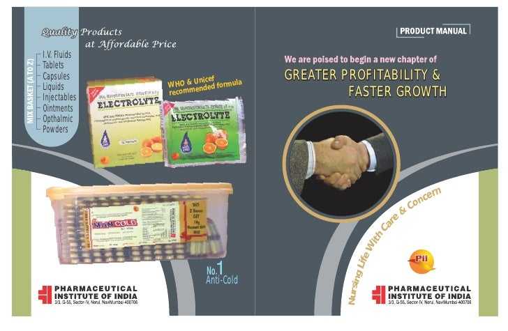 I.V. FluidsTabletsCapsules             Unicef                                    GREATER PROFITABILITY &Liquids       WHO ...