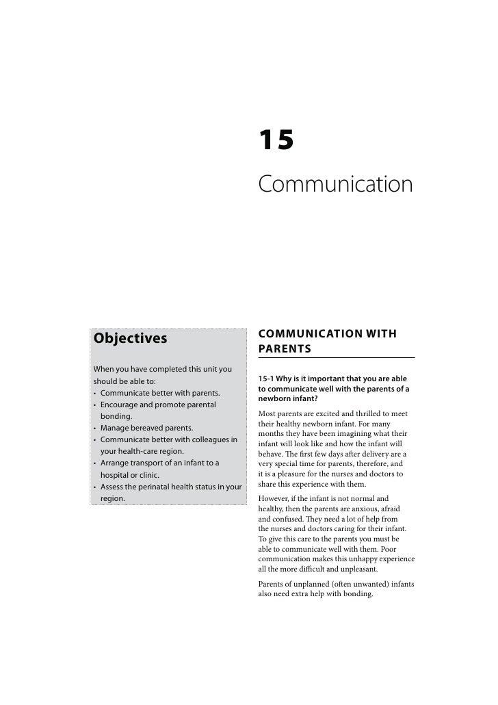 15                                               Communication                                               COMMUNICATION...
