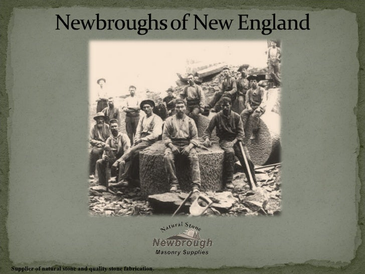 Newbroughs Of New England