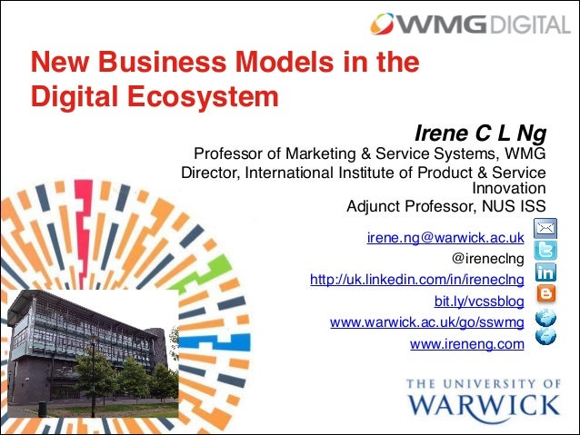 New Business Models in the Digital Ecosystem