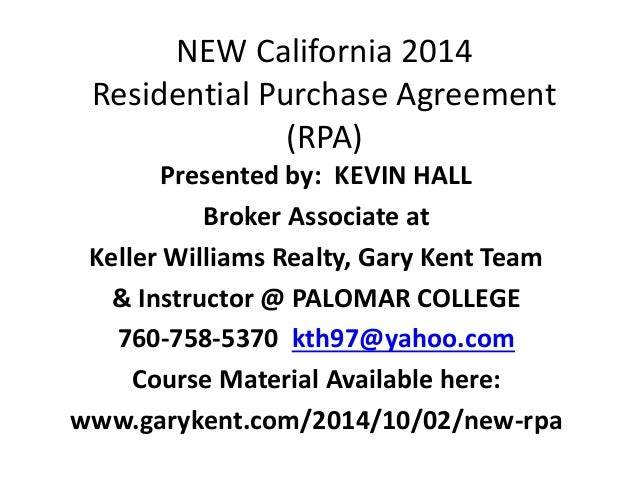 New_California_2014_Fesidential_Purchase_Agreement