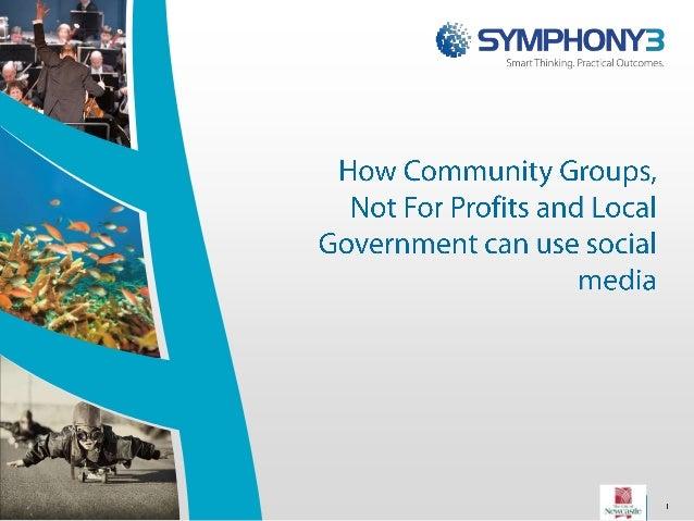 Social Media in Community Organisations