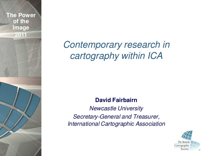 Contemporary research in cartography within ICA