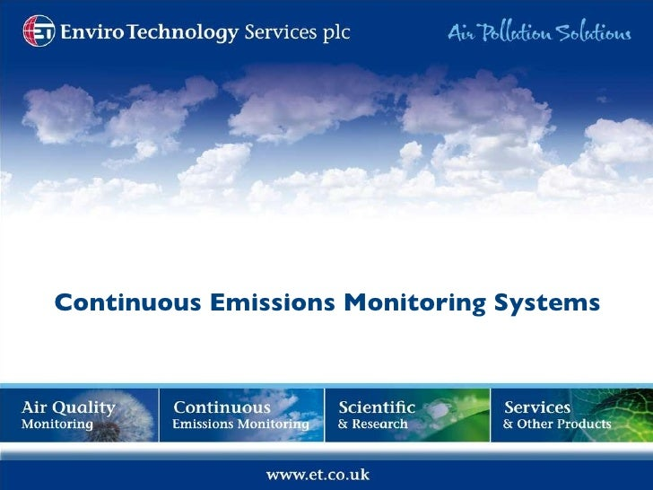 Continuous Emissions Monitoring Systems
