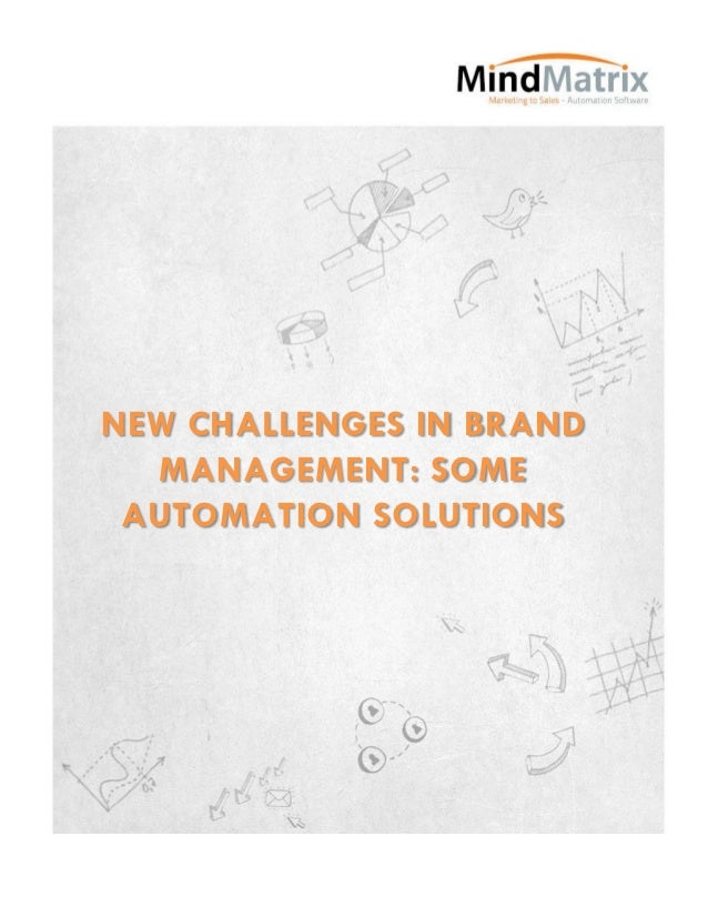 New challenges in brand management  some automation solutions