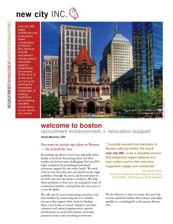 New City Brochure