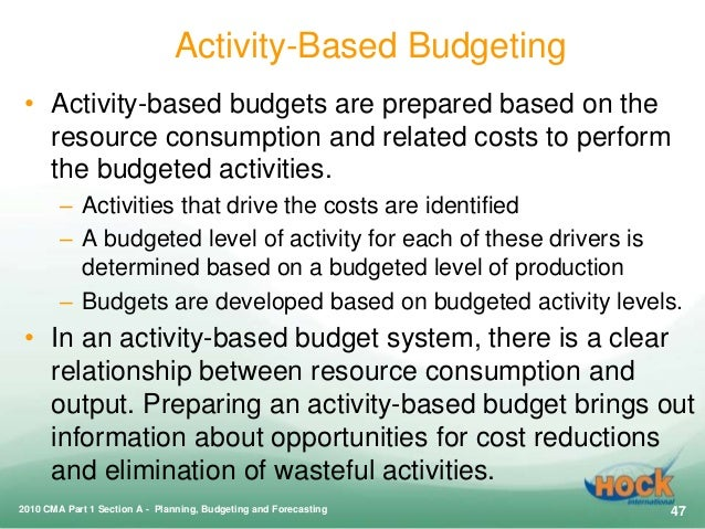 benefits of activity based costing essay Activity-based cost accounting (also called abc for activity-based costing) is a   advantage of abc techniques will have to use two different costing methods.