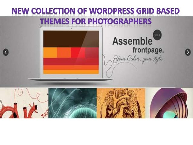 A Collection of Wordpress Grid Based Themes for Photographers